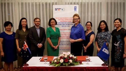 Australia và UNDP tăng cường  hợp tác nhằm thúc đẩy quản trị công và chính quyền phục vụ nhân dân ở Việt Nam - ảnh 2
