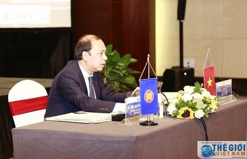 ASEAN 2020: Phiên thảo luận cấp Quan chức liên ngành về xây dựng Khung phục hồi tổng thể ASEAN - ảnh 1