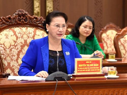 Hà Nội cần gắn việc thực hiện Luật Thủ đô, Nghị quyết của Quốc hội về một số cơ chế, chính sách tài chính ngân sách đặc  - ảnh 1