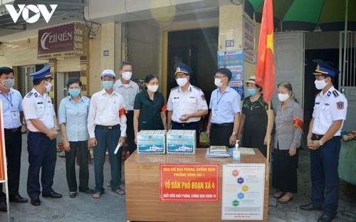 Vùng Cảnh sát biển 1 đồng hành cùng lực lượng tuyến đầu phòng chống dịch Covid-19 - ảnh 1