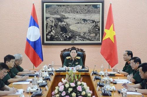 Việt Nam – Lào: Tăng cường hợp tác giữa các lực lượng quản lý và bảo vệ biên giới - ảnh 1