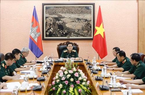 Bộ Quốc phòng Việt Nam và Campuchia tiếp tục củng cố, nâng cao hiệu quả các cơ chế hợp tác - ảnh 1