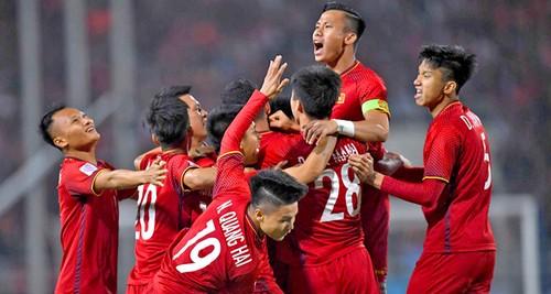 Đội tuyển Quốc gia Việt Nam giữ vững vị trí số 1 Đông Nam Á trên Bảng xếp hạng FIFA - ảnh 1