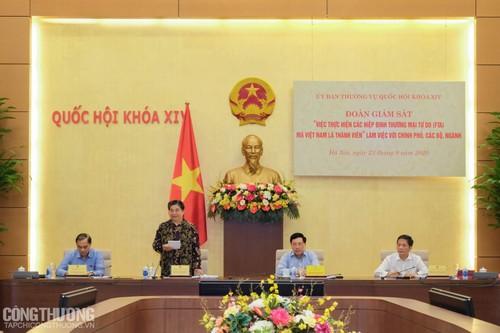 Thị trường xuất nhập khẩu mở rộng, giá trị hàng hóa gia tăng khi Việt Nam tham gia các FTA - ảnh 1