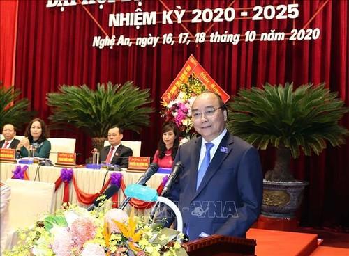 Thủ tướng Nguyễn Xuân Phúc dự Đại hội đại biểu Đảng bộ tỉnh Nghệ An lần thứ XIX - ảnh 1