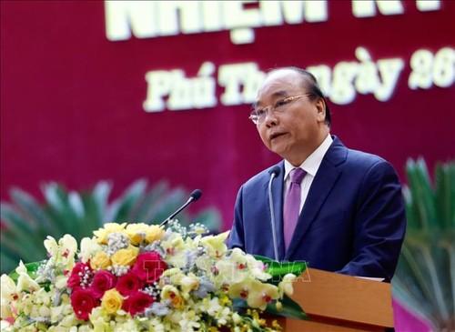 Thủ tướng Nguyễn Xuân Phúc dự Đại hội đại biểu Đảng bộ tỉnh Phú Thọ  - ảnh 1