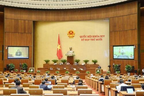 Đại biểu Quốc hội tán thành việc ban hành dự thảo Nghị quyết về tổ chức chính quyền đô thị tại Thành phố Hồ Chí Minh - ảnh 1