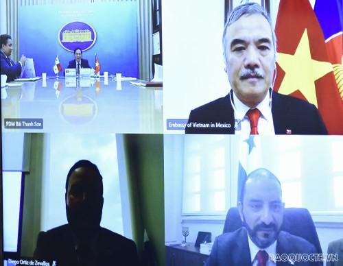 Việt Nam - Panama tăng cường quan hệ hữu nghị và hợp tác  - ảnh 1