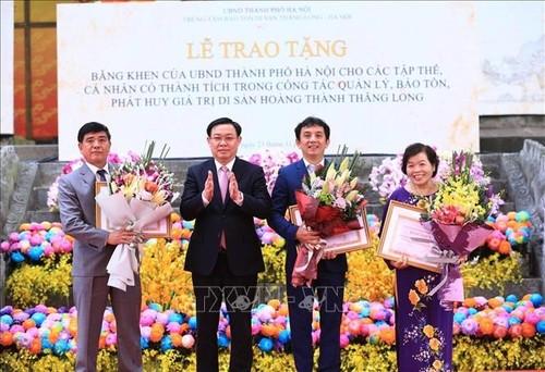 Kỷ niệm 10 năm Hoàng thành Thăng Long được UNESCO ghi danh là Di sản văn hóa thế giới - ảnh 1
