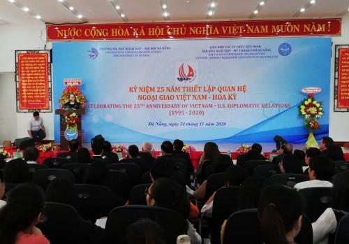 Kỷ niệm 25 năm thiết lập quan hệ ngoại giao Việt Nam - Hoa Kỳ - ảnh 1