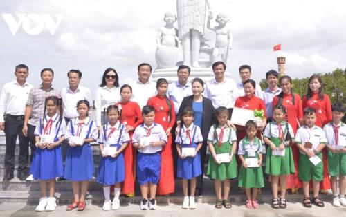 Chủ tịch Quốc hội Nguyễn Thị Kim Ngân làm việc tại tỉnh Cà Mau - ảnh 1