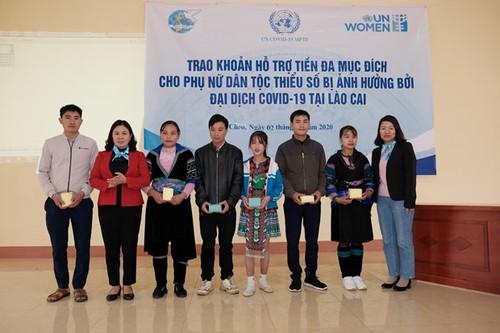 UN Women hỗ trợ gần 1,4 tỷ đồng cho 600 hộ nghèo tại tỉnh Lào Cai - ảnh 1