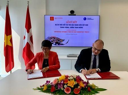 Đan Mạch hỗ trợ tăng cường giáo dục về liêm chính cho thanh niên Việt Nam - ảnh 1