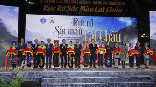 Khai mạc Tuần Văn hóa du lịch Lai Châu tại Hà Nội - ảnh 1