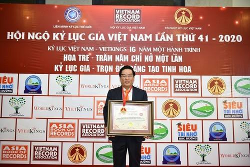 Công ty Điều hành dầu khí Biển Đông nhận Kỷ lục Việt Nam - ảnh 1