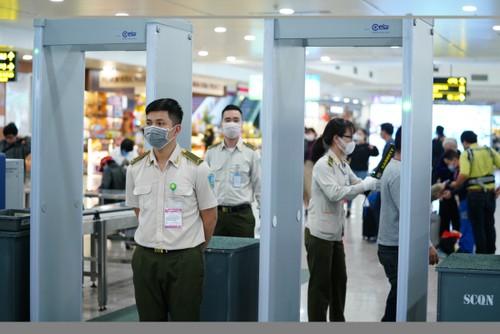 Áp dụng kiểm soát an ninh hàng không cấp độ 1 phục vụ Đại hội Đảng - ảnh 1