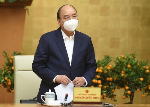 Thủ tướng Nguyễn Xuân Phúc chỉ đạo các địa phương có dịch COVID-19 có thể giãn cách xã hội - ảnh 1