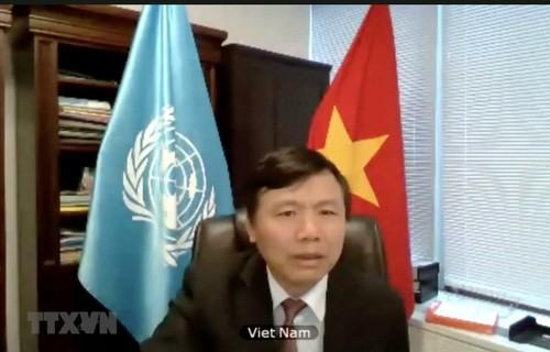 Việt Nam cam kết thực hiện tích cực và đầy đủ các trách nhiệm của mình, đóng góp cho nỗ lực chung của cộng đồng quốc tế  - ảnh 1