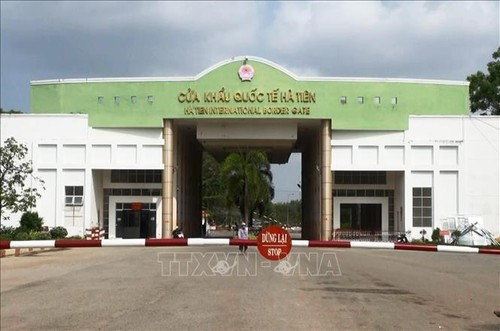 Kiên Giang phát triển và kết nối hạ tầng thương mại biên giới với Campuchia - ảnh 1