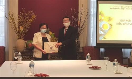 Đại sứ Việt Nam tại Bỉ thăm hỏi, động viên bà con kiều bào trước những khó khăn do dịch COVID-19 - ảnh 1