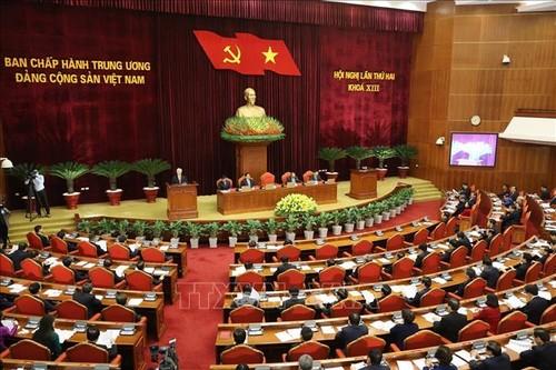 Khai mạc hội nghị Hội nghị lần thứ 2 Ban Chấp hành Trung ương Đảng khóa XIII - ảnh 1