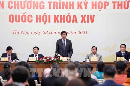 Kỳ họp thứ XI, Quốc hội khóa XIV, khai mạc ngày 24/3 - ảnh 1