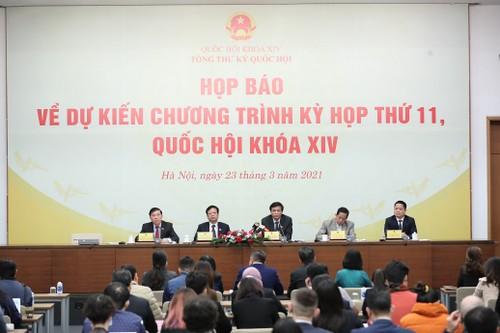 Khai mạc Kỳ họp thứ XI, Quốc hội khóa XIV - ảnh 1