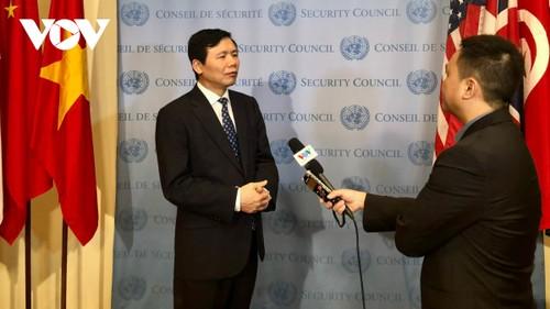 Việt Nam sẵn sàng cho tháng Chủ tịch Hội đồng bảo an Liên hợp quốc - ảnh 1