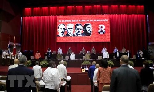 Điện mừng nhân dịp Đại hội lần thứ VIII của Đảng Cộng sản Cuba - ảnh 1