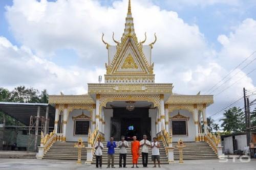 Sóc Trăng: Bảo tồn giá trị lịch sử chùa Nam Tông Khmer - ảnh 1