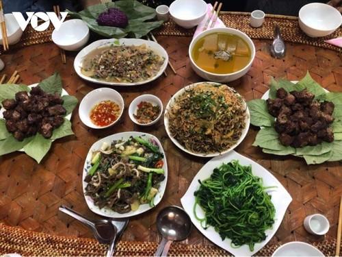 Đậm đà món thịt trâu của đồng bào Thái Tây Bắc - ảnh 1