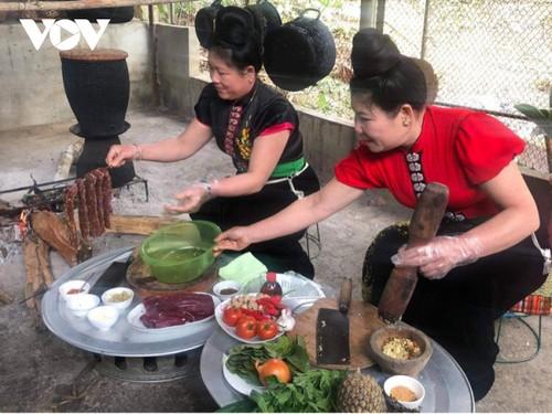 Đậm đà món thịt trâu của đồng bào Thái Tây Bắc - ảnh 2