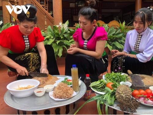 Đậm đà món thịt trâu của đồng bào Thái Tây Bắc - ảnh 3