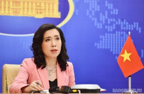 Việt Nam yêu cầu các bên liên quan tôn trọng chủ quyền của Việt Nam - ảnh 1