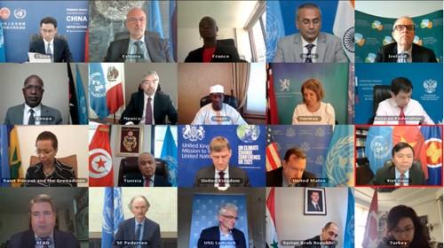 Hội đồng Bảo an Liên Hợp Quốc họp định kỳ về các vấn đề quốc tế - ảnh 1