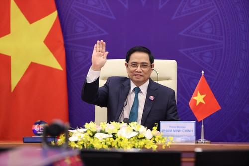 Thủ tướng Phạm Minh Chính đưa ra sáu giải pháp quan trọng tại Phiên thảo luận của Hội nghị P4G 2030 - ảnh 1