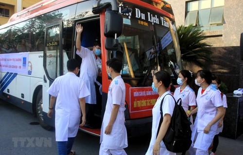 Hơn 2.700 cán bộ y tế, sinh viên y, dược, hỗ trợ tỉnh Bắc Ninh và Bắc Giang phòng, chống dịch COVID-19 - ảnh 1