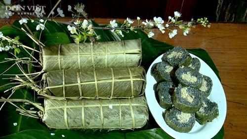 Bánh chưng thảo dược – Món ăn độc đáo của đồng bào dân tộc Mường tỉnh Phú Thọ - ảnh 2