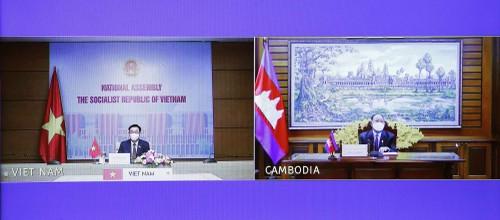 Tăng cường quan hệ hữu nghị truyền thống, hợp tác toàn diện Việt Nam - Campuchia - ảnh 1