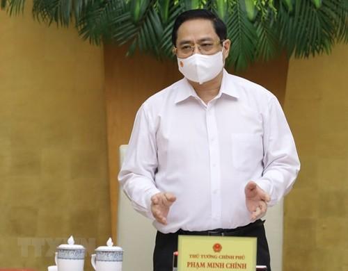 Thủ tướng Phạm Minh Chính chủ trì Phiên họp Chính phủ thường kỳ tháng 5/2021 - ảnh 1