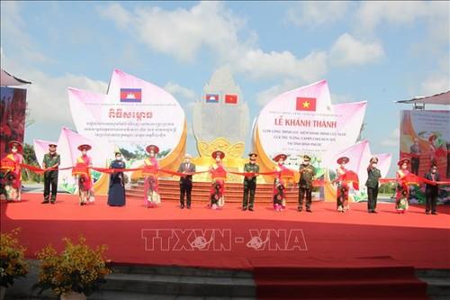 Khánh thành Cụm công trình lưu niệm hành trình cứu nước của Thủ tướng Campuchia Hun Sen tại Bình Phước - ảnh 1