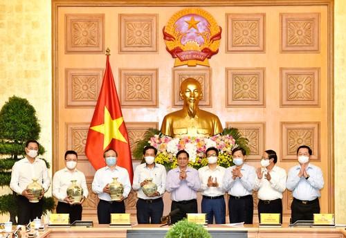 Thủ tướng Phạm Minh Chính: Sứ mệnh của những người làm báo đầy ý nghĩa, tự hào, vẻ vang nhưng cũng vô cùng gian nan, vất - ảnh 1