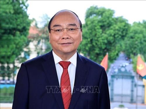 Chủ tịch nước Nguyễn Xuân  Phúc biểu dương các cơ quan báo chí trên mặt trận phòng, chống dịch COVID-19 - ảnh 1