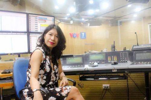 Nữ phóng viên VOV theo mảng quốc tế - ảnh 2