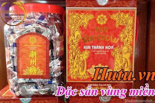 Kẹo Sìu Châu Nam Định - thức quà tinh tế dành tặng khách gần xa - ảnh 2