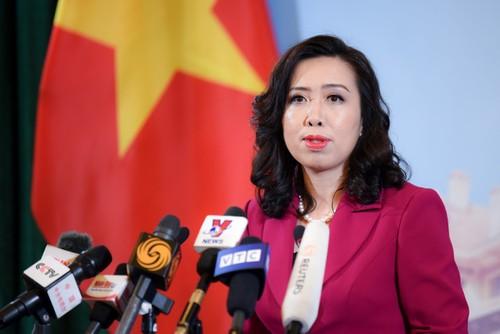 Việt Nam ủng hộ việc giải quyết các tranh chấp liên quan ở Biển Đông thông qua ngooại giao và pháp lý - ảnh 1