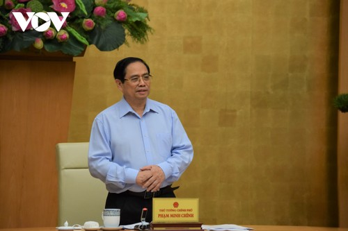 Thủ tướng Phạm Minh Chính: Phát huy sức mạnh đại đoàn kết toàn dân tộc trong phòng chống dịch - ảnh 1