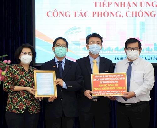 Lãnh sự quán và các doanh nghiệp nước ngoài tại TP.HCM ủng hộ kinh phí phòng chống dịch - ảnh 1