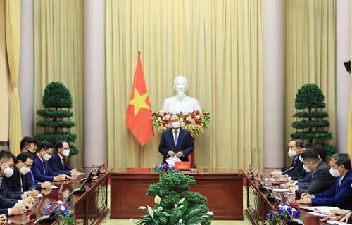 Các doanh nghiệp, các nhà đầu tư Hàn Quốc sẽ chung tay cùng Việt Nam gây dựng Quỹ vaccine phòng COVID-19 - ảnh 1