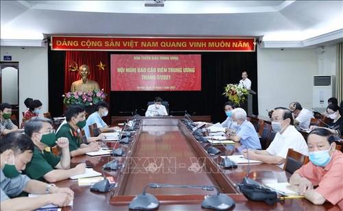 Hội nghị báo cáo viên các tỉnh ủy, thành ủy, đảng ủy trực thuộc Trung ương - ảnh 1